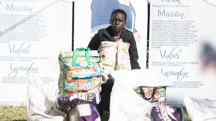 """It Is by the Grace of God that I Managed to Escape The Fire…"" –  Agape Donates to Mbare Fire Disaster Victim"