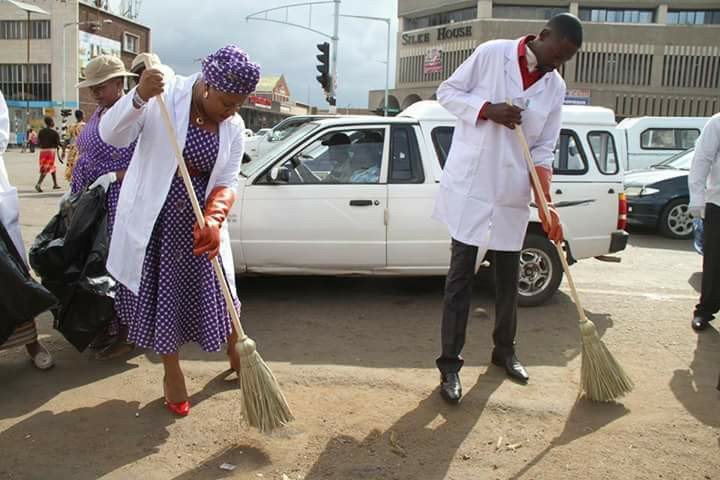 #UFICInRetrospect – Harare Clean-Up Campaign (March 1, 2015)