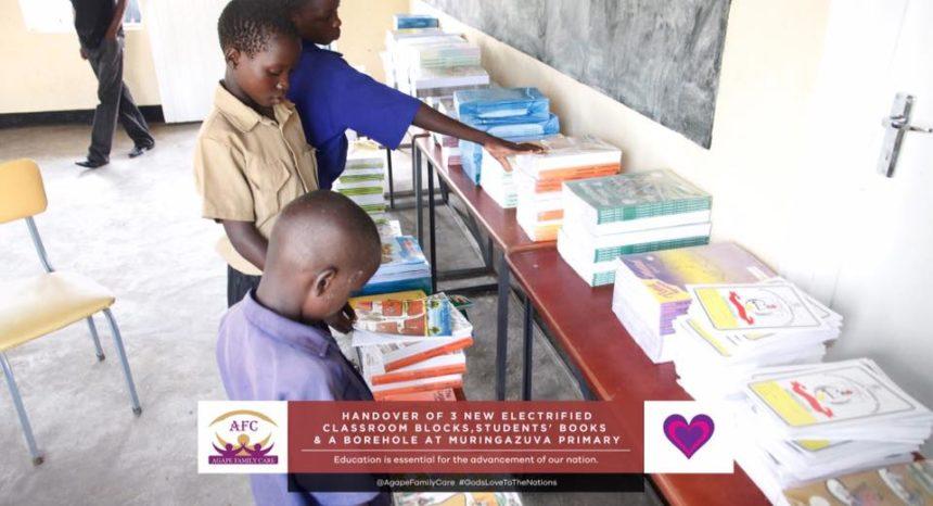 #CelebratingOurMom Ruth Makandiwa's Donation to Muringazuva Primary School