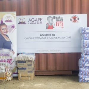Ruth Makandiwa Donates to Child Line #GirlChildSheCan