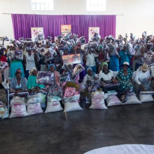 Ruth Makandiwa Celebrates Mothers' Day With The Elderly Mothers in Nembudzia
