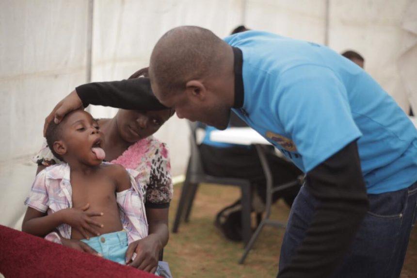 Emmanuel And Ruth Makandiwa's Free Medical Outreach For Cyclone IDAI Victims