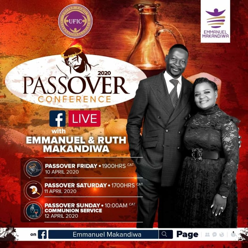 """""""The Body Of Christ Must Pray"""" – Special Passover Conference 2020 Message by Emmanuel Makandiwa"""