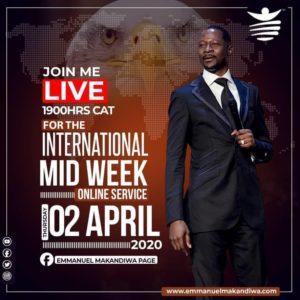 MidWeek Online Service with Emmanuel Makandiwa (02.04.20)
