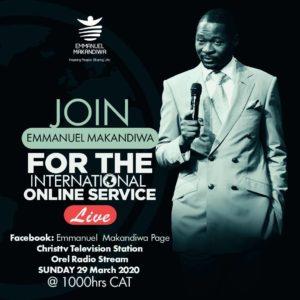 International Online Service with Emmanuel Makandiwa (29.03.20)