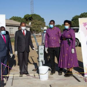 Emmanuel and Ruth Makandiwa Donate Boreholes To Chitungwiza Community
