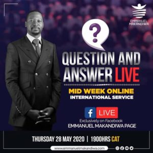 International Online MidWeek Service with Emmanuel Makandiwa (28 May 2020)