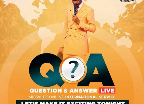 Question and Answer Session with Emmanuel Makandiwa (04 June 2020)