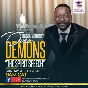 Unusual Authority Over Demons – The Spirit Speech