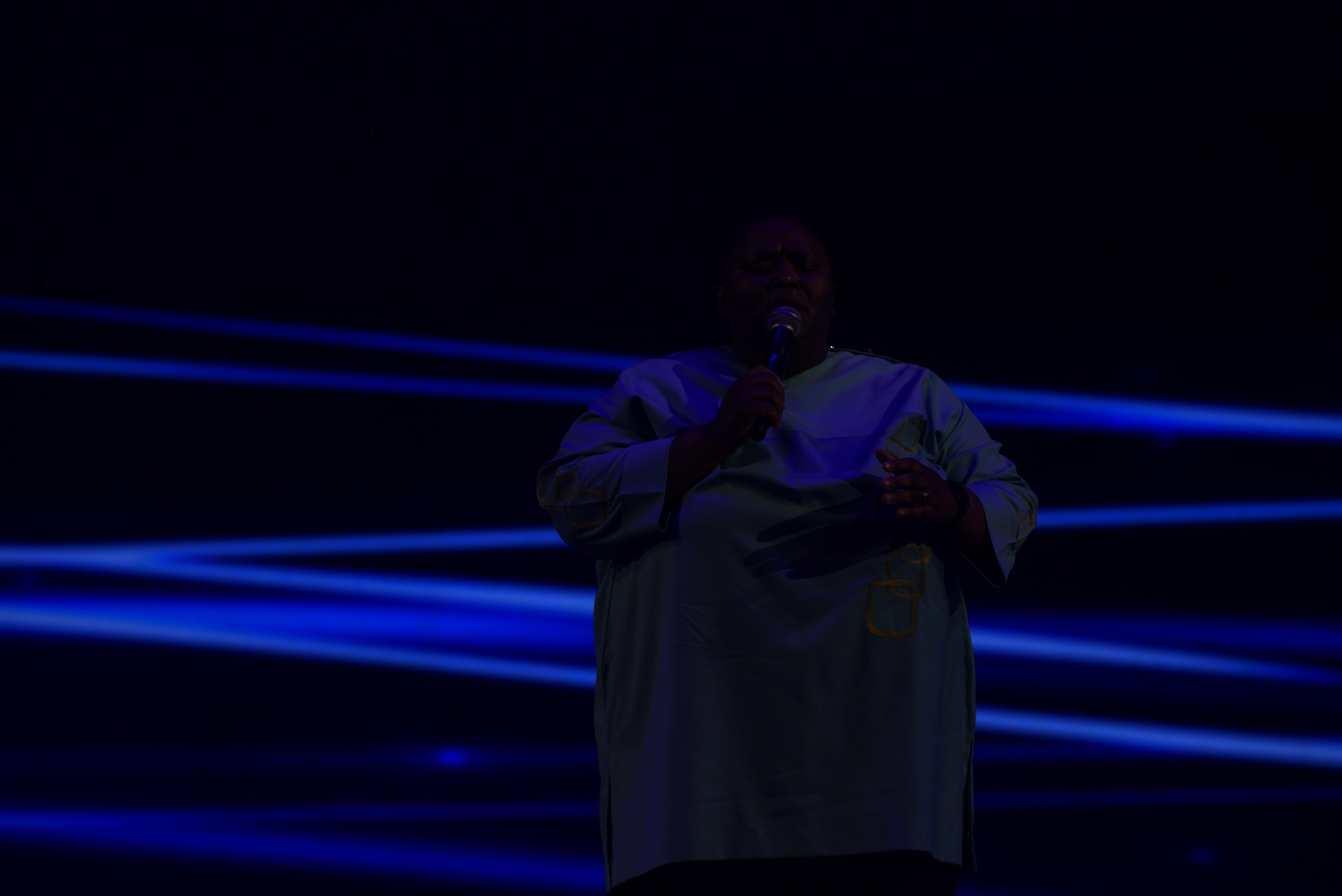 SA Gospel Star Hlengiwe Leads UFIC In Heartfelt Worship