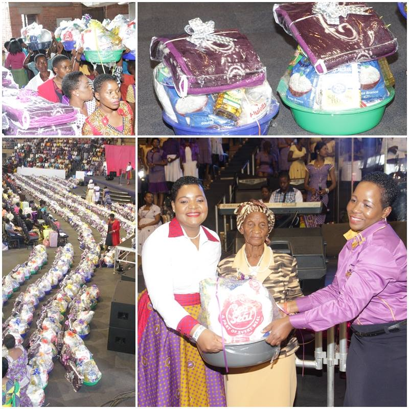 #CelebratingOurMom Ruth Makandiwa's Mothers Day Donations