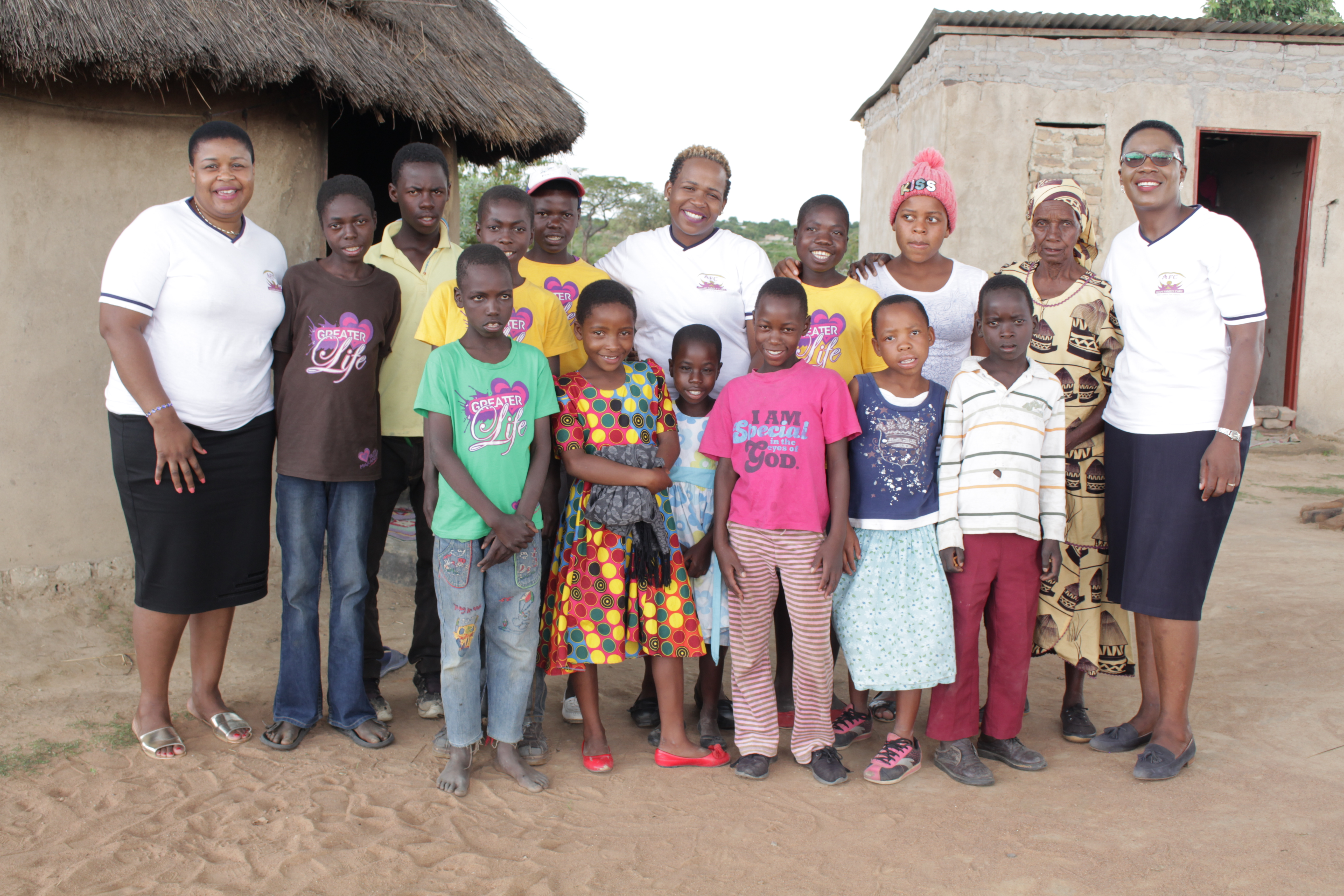 """""""I Had No Means Of Taking Care Of My 13 Grandchildren…"""" Agape Family Care Beneficiary"""