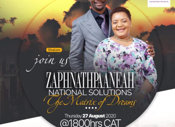 ZAPHNATHPAANEAR (National Solutions): The Matrix of Dreams