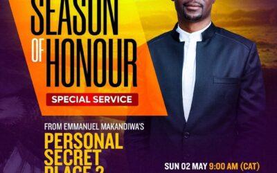 SEASON OF HONOUR SPECIAL SERVICE: Personal Secret Place 2