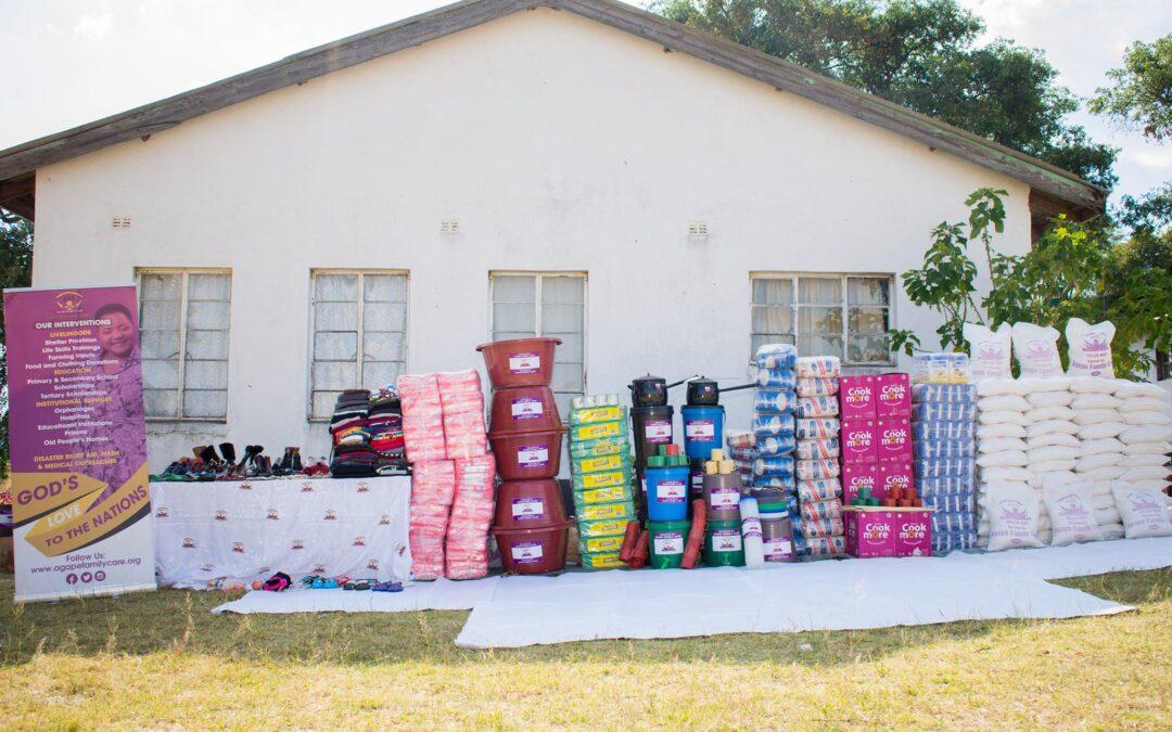 Ruth Makandiwa Donates to Children's Home in Marange